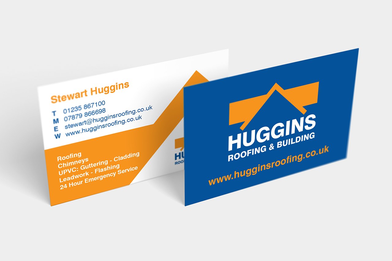 Huggins Roofing & Building - Paul Clark Creative